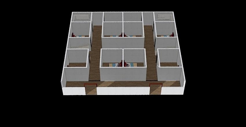 54x50 Interior Design Render