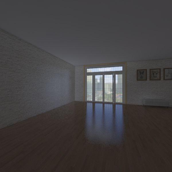 GIULIA E SARA 3I Interior Design Render