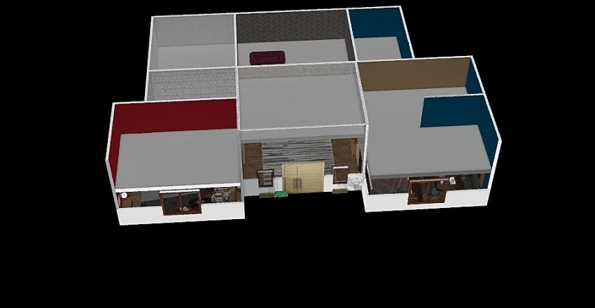 progetto casa 2 piani Interior Design Render