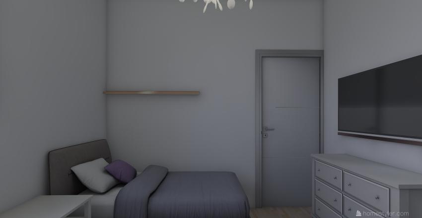 meu quarto Interior Design Render