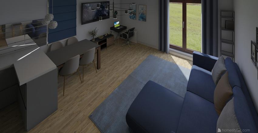 plan mieszkania3 nowy uklad Interior Design Render