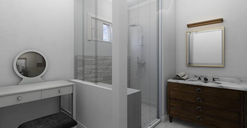Master Bathroom 2 Interior Design Render