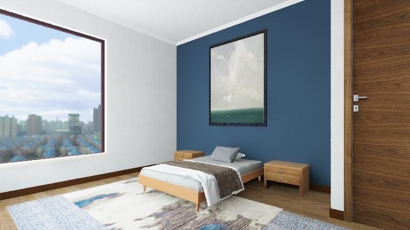 Habitación Interior Design Render