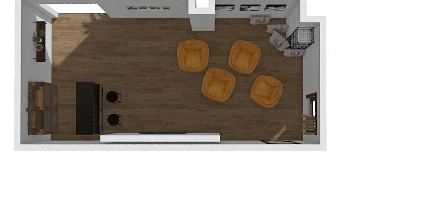 CINE EN CASA Interior Design Render