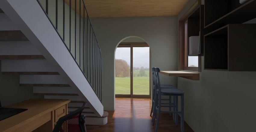 The Chapel. Interior Design Render