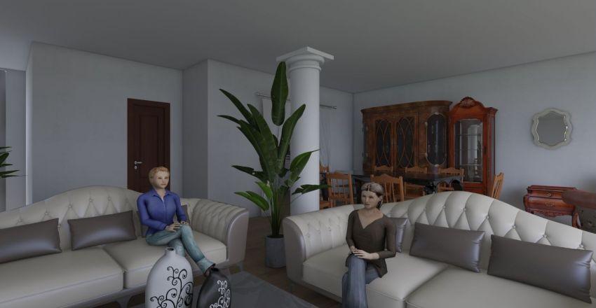 нагет с мебелью2 Interior Design Render