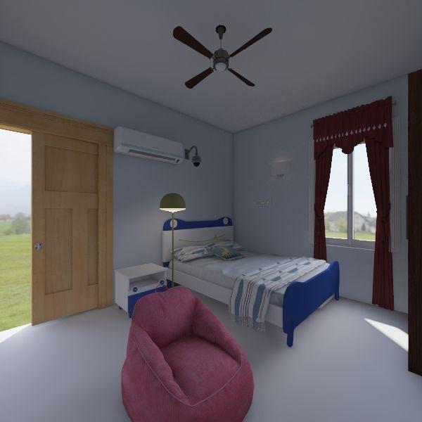 abhi bed room  Interior Design Render