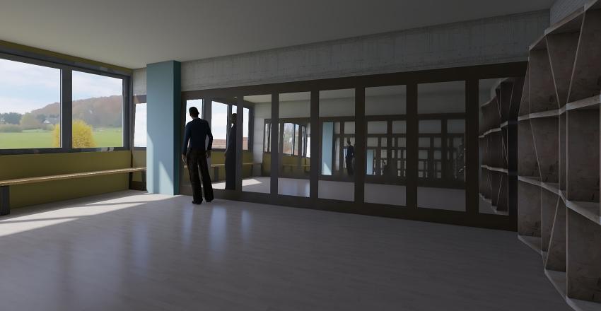 salon baile y rc Interior Design Render