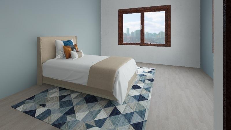 Recamara Interior Design Render