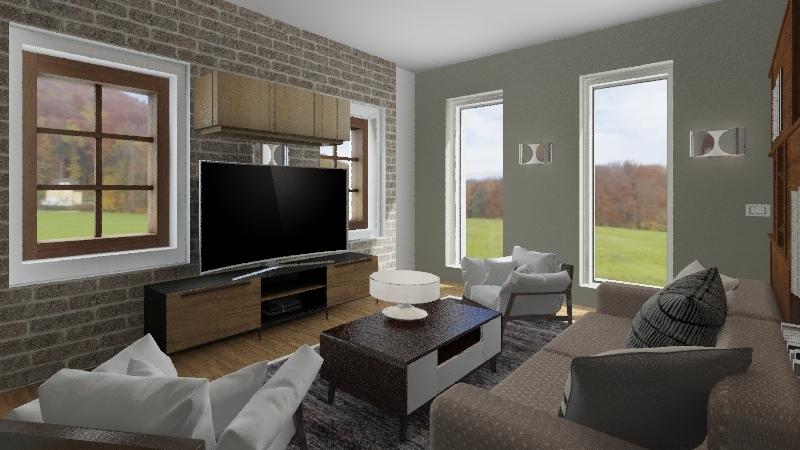 fienile Interior Design Render