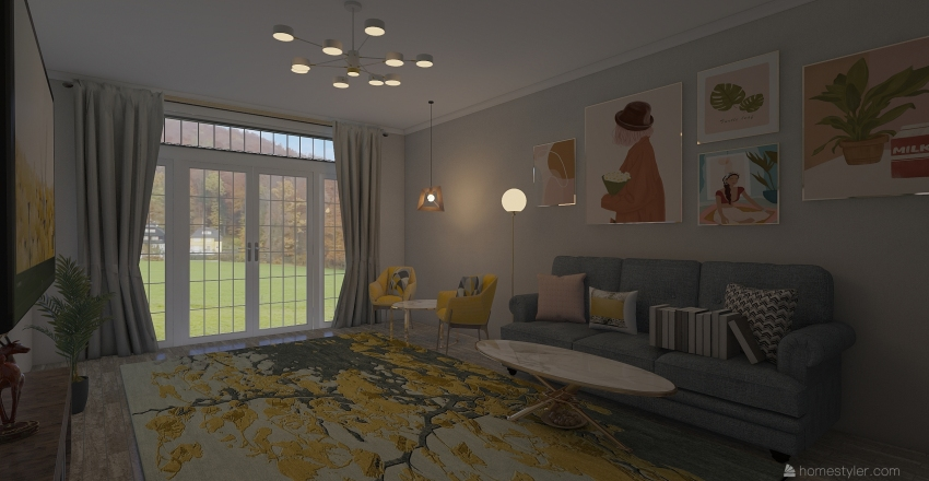 Design 3 Interior Design Render