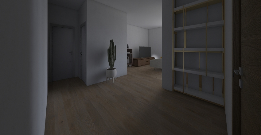 T3 Laranjeiro - Proposta 1 Interior Design Render