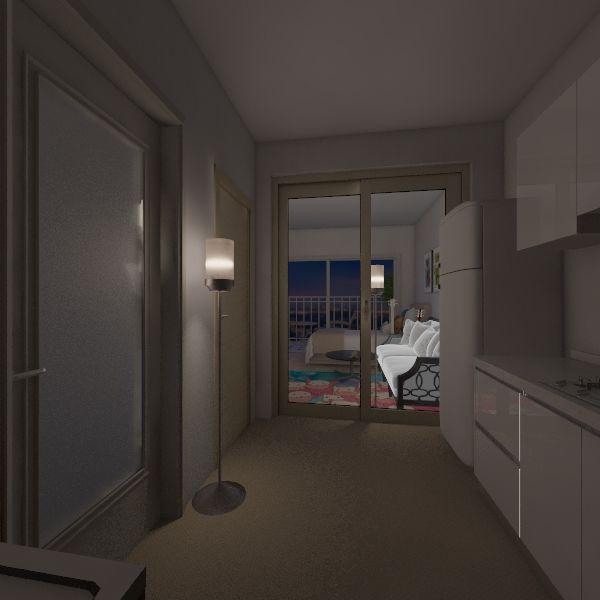一宮隼人の部屋 Interior Design Render