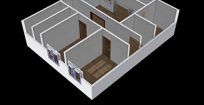 casa chefe caju Interior Design Render