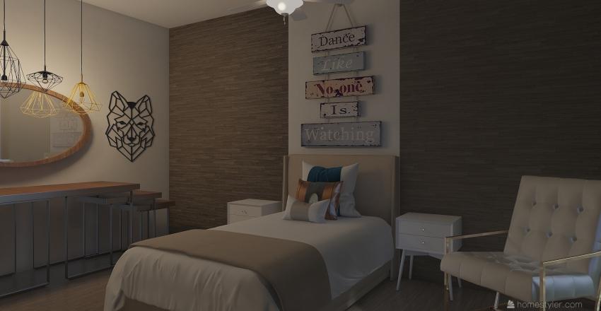 8th Floor Apartment Interior Design Render