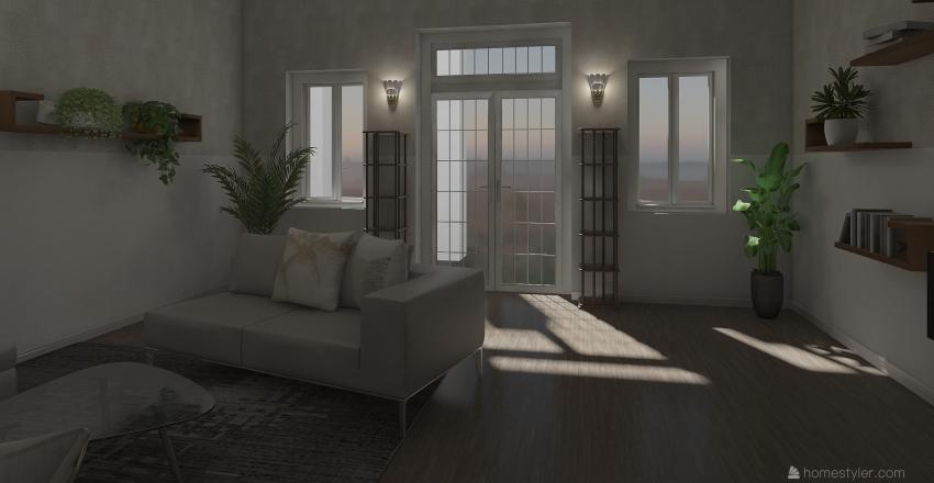 casa colonica Interior Design Render