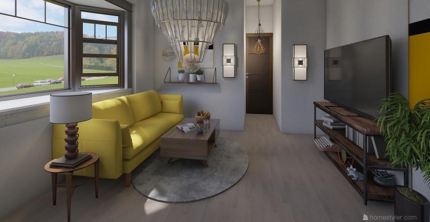 apartment 8 Interior Design Render