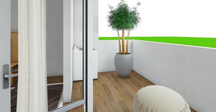 KCU Dorm Room - Girls Dorm Room Interior Design Render