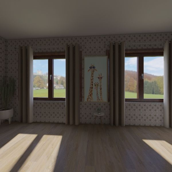 Гостиная комната Interior Design Render