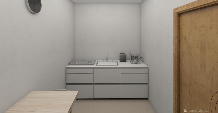 Landscaping Office Interior Design Render