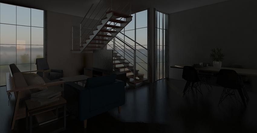 CASA ROSARITO Interior Design Render