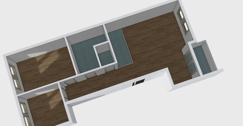 prezadnji lijevi Interior Design Render