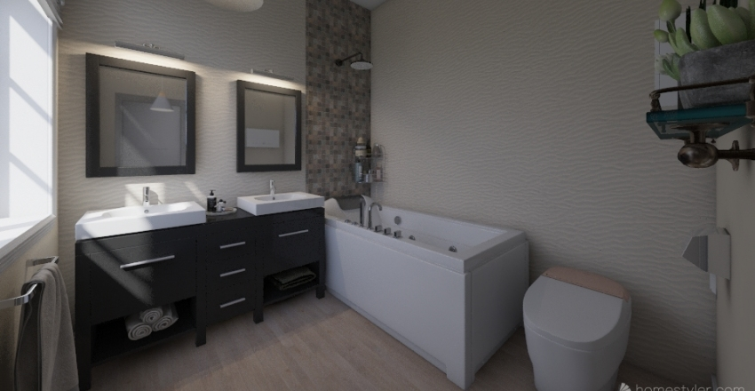 Plan cu cote | Ilbah 9 Interior Design Render