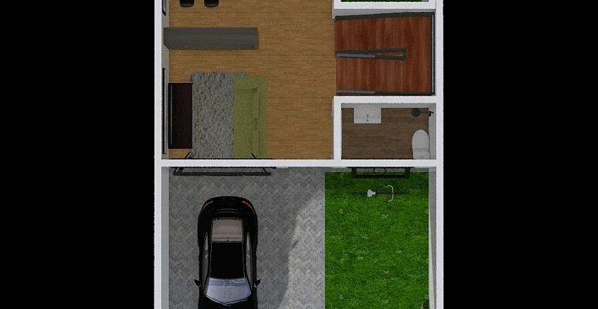 rumah visalia Interior Design Render
