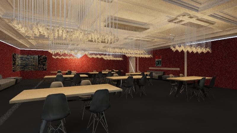 RESTAURANTE MONA Interior Design Render