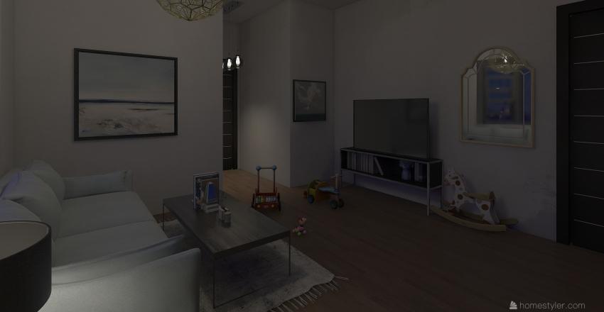 apartment 9 Interior Design Render