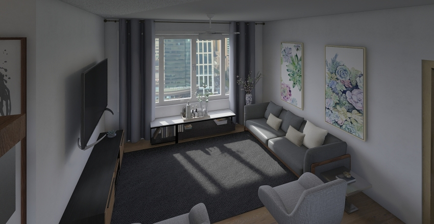 576_CS1 Interior Design Render