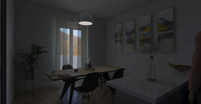 Tipo A -3 Interior Design Render