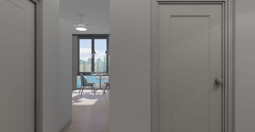comfortable apartment Interior Design Render