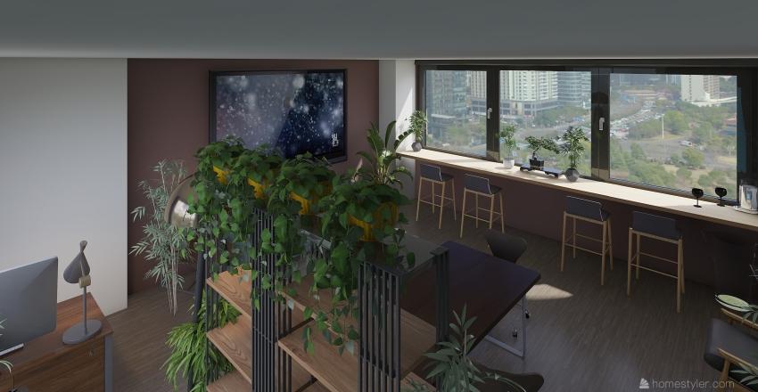 Kompot.studio Interior Design Render