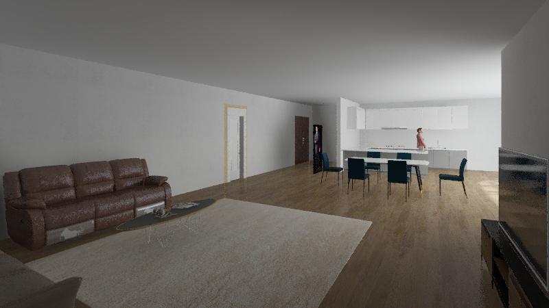Mattia De Poli Interior Design Render