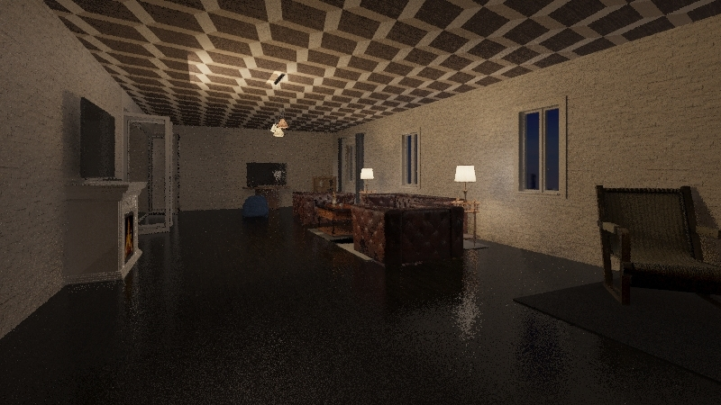 claudios disla house  Interior Design Render