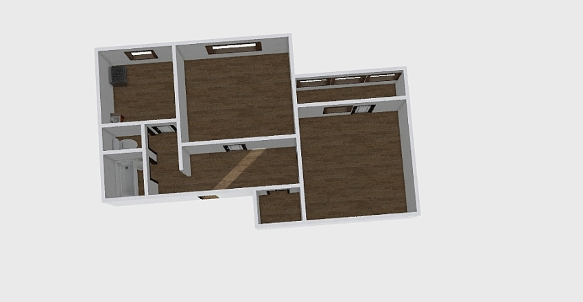 2-комн_0335 Interior Design Render