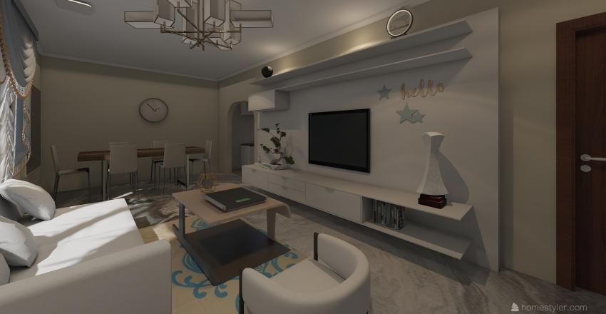 First Flash Interior Design Render