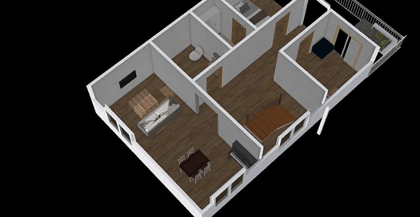 CASA  PISO 3 Interior Design Render