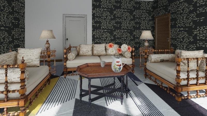 Gia's Best House So Far Interior Design Render