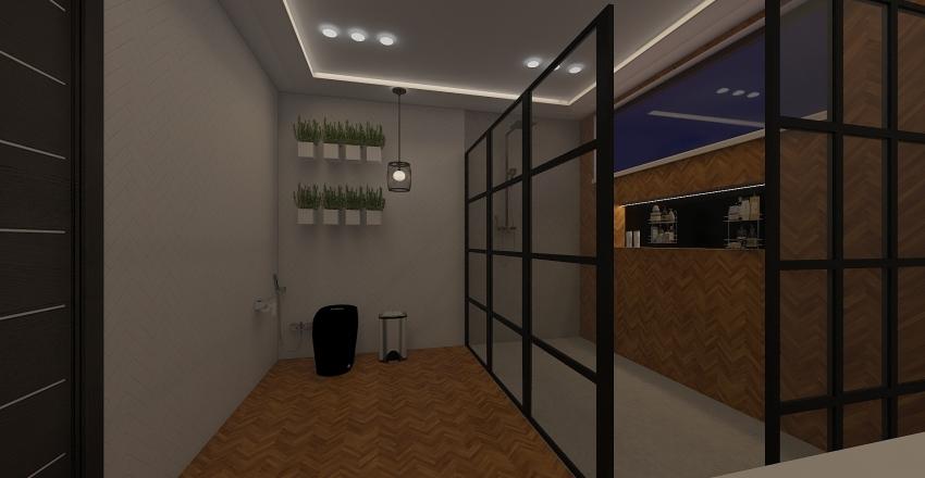 BANHEIRO - 1 AMBIENTE 2 PROPOSTAS Interior Design Render