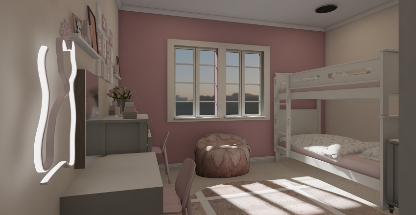Family Home Tims Interior Design Render