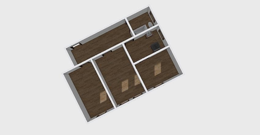 3-комн_0228 Interior Design Render