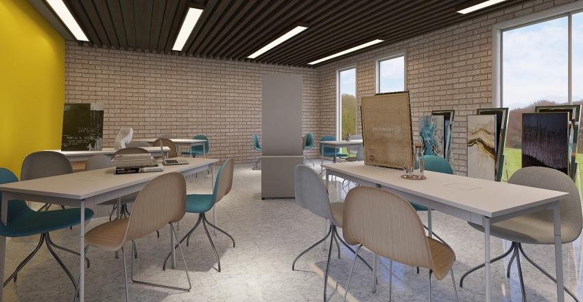 Parque educativo 2 Piso Interior Design Render