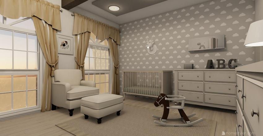 pokoik dziecięcy 1 Interior Design Render