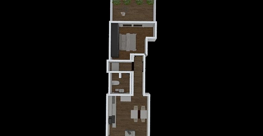 MSIDA1BED Interior Design Render