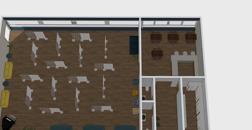 area integradora Interior Design Render