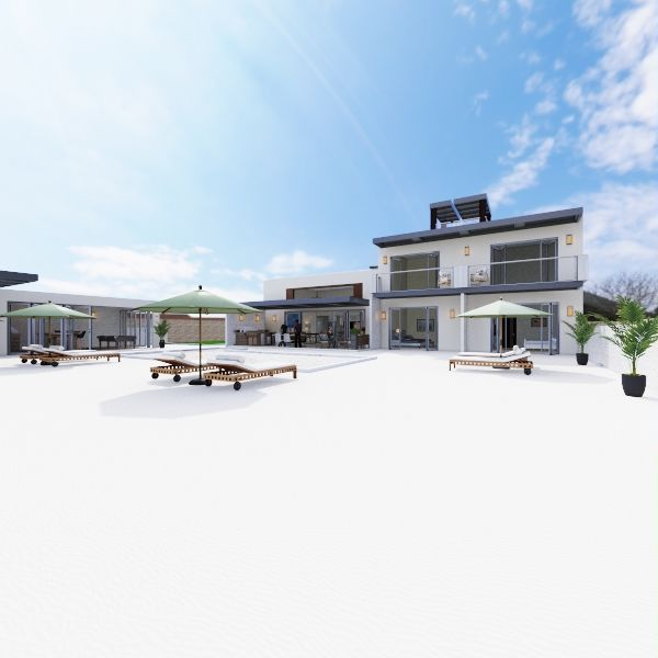 HAMMER HOUSE  Interior Design Render