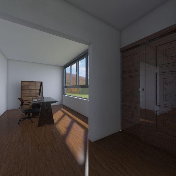 teddy house  Interior Design Render