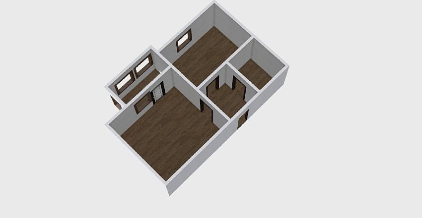 1-комн_0357 Interior Design Render